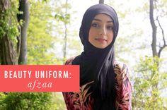 My Beauty Uniform: Afzaa Motiwala | A Cup of Jo beauty video recs
