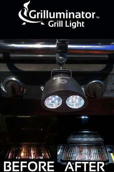 The Grilluminator Grill Light at grillinandchillin.com is like having the sun grace your grill to fully illuminate the entire grilling surface without shadows as you safely grill up those BBQ treats at night. An incredible gift for any Grillmaster in your life will be the envy of the neighborhood. This durable weather resistant design has 10 LEDs for hours of night-time BBQing Euphoria, fits most grills and is great for camping, reading, emergencies and any other use of light imaginable.