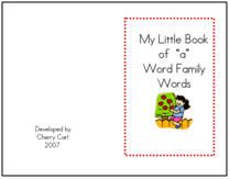 WordWay - word family worksheets, games, and books