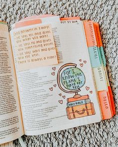 Jeremiah I'm currently just saving images for inspiration. I have not yet visited the link. Bible Study Notebook, Bible Study Journal, Scripture Study, Bible Art, Bible Journaling For Beginners, Notebook Quotes, Bible Drawing, Bible Doodling, Bible Verses Quotes