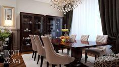 Interior design of a dining area with two glass cabinets / Дизайн интерьера обеденной зоны с двумя витринами #interiordesign #diningroom #table #интерьер