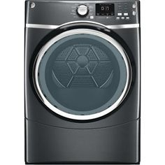 GE 7.5 cu. ft. Electric Dryer with Steam in Diamond Gray-GFDS175EHDG - The Home Depot