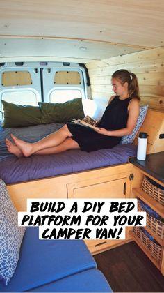 Diy Van Camper, Build A Camper Van, Camper Van Conversion Diy, Diy Camper Trailer, Sprinter Van Conversion, Bus Life, Camper Life, Baby Boys, Van Camping