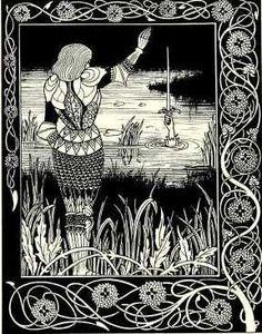 Bedivere-AubreyBeardsley-1894
