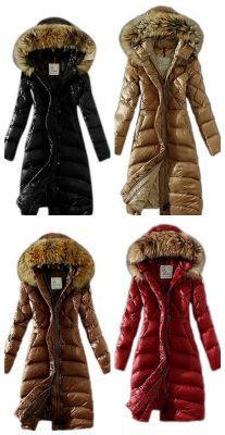fur lined puffy winter coat knee length