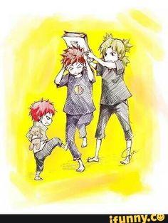 Gaara, Kankuro, Temari, Sand Siblings, cute; Naruto