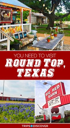 This Tiny Town Outside of Austin Might Be the Most Charming in Texas Round Top, Texas is The Tiny Town You Need to Visit Texas Vacations, Texas Roadtrip, Texas Travel, Travel Usa, Family Vacations, Dallas Travel, Family Travel, Need A Vacation, Vacation Places