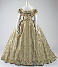 Ensemble Option 1  Date: ca. 1865  Culture: British  Medium: silk