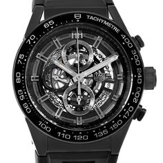 5f987a57056 16896 Tag Heuer Carrera Black Ceramic Chronograph Watch CAR2A90 Box Papers  SwissWatchExpo Luxury Watches For Men