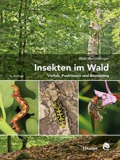 Wermelinger, Beat «Insekten im Wald. Vielfalt, Funktionen und Bedeutung» | 978-3-258-08217-2 | www.haupt.ch Bird Feeders, Outdoor Decor, Plants, Products, Pictures, Spider Species, Insects, Field Guide, Reference Book