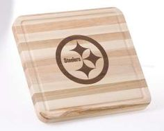Pittsburgh Steelers WoodCrafts Cutting Board-5124292