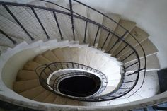Photo de l'escalier prise lors de la formation interne Wikipedia.