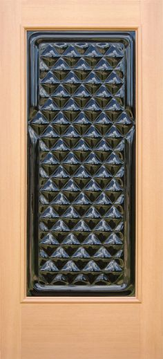 """Diamante"" is a Modern glass door with traditional roots featuring ClearCast Glass set in solid wood. Classic! http://www.sculpturalglassdoors.com/portfolio/modern-glass-door-diamante/ #glass entry door, #modern front door, #double entry doors, #custom glass door"