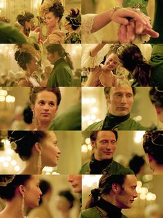 A Royal Affair: Johann Struensee (Mads Mikkelsen) and Caroline Mathilde (Alicia Vikander)