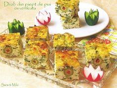 Drob-din-piept-de-pui-2-2 Ceviche, Casserole, Buffet, Spicy, Turkey, Appetizers, Cooking Recipes, Snacks, Chicken