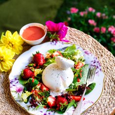 Add a creamy, colorful flair to your springtime table with this delightful burrata salad.