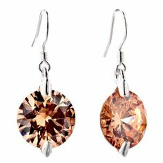 Pugster Round Pure Light Smoked Topaz Crystal Dangle Earrings Pugster. $16.79. Money-back Satisfaction Guarantee. A thoughtful gift that will be cherished for years to come.. Desiged for Swarovski element Crystal Style. Packaging:Free Jewerly Box,Great to give away as presents, gifts to friends or family members.. Meticulous fine jewelry craftsmanship. Save 20%!