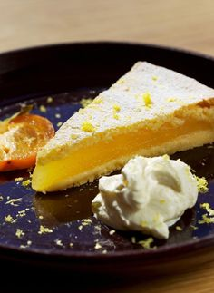 Lemon pie.
