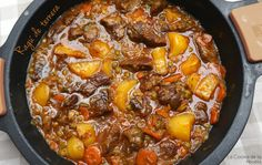 Spanish Food, Chili, Curry, Soup, Yummy Food, Beef, Ethnic Recipes, Desserts, Drinks