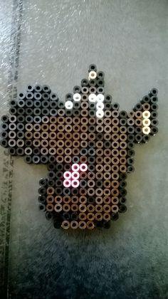 Scooby Doo perler beads by Perlerwonders
