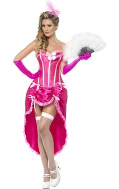 can can costume jokers masquerade - Can Can Dancer Halloween Costume