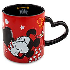Minnie Mouse Heart Mug - ''I Love Mickey'' Collection