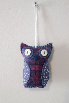 Twilight Owl Stuffy by PearlsRoom on Etsy, $15.00