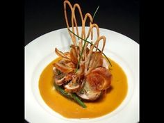 Food Plating Techniques.  Food Decoration Plating Garnishes Food Arts Fo...