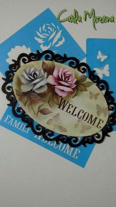 Stencils, Stencil Art, Craft Projects, Projects To Try, Diy And Crafts, Arts And Crafts, Decoupage Box, Flower Tattoo Designs, Vintage Country