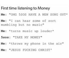 SOOO TRUUEEEE!!!!! I'm convinced they did it on purpose, especially since it's the first song on the album!!