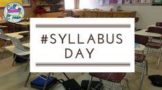 #Syllabus Day Middle School Syllabus, Classroom Procedures, Classroom Ideas, Classroom Management, High School Literature, Teaching Strategies, Teaching Ideas, Art Rubric, First Day Of Class