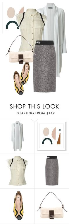 """bag"" by masayuki4499 ❤ liked on Polyvore featuring IRIS VON ARNIM, Chanel and Fendi"