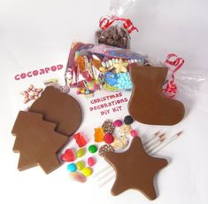 Chocolate Christmas Decorations DIY Kit by Cocoapod Chocolates, the perfect gift for Explore more unique gifts in our curated marketplace.