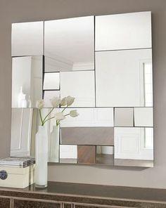 Diy fragmented mirror... So neat!