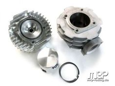 soon to me mine ....Malossi 172 cylinderkit with MRP cylinderhead (Vespa T5)