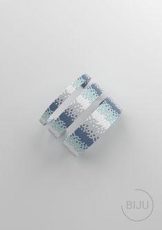 Loom Bracelet Patterns, Bead Loom Bracelets, Peyote Patterns, Loom Patterns, Beading Patterns, Stitch Patterns, Friendship Bracelets Tutorial, Bracelet Tutorial, Diy Crafts