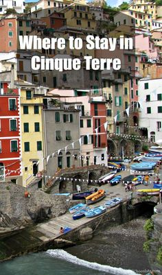 Where to Stay in Cinque Terre