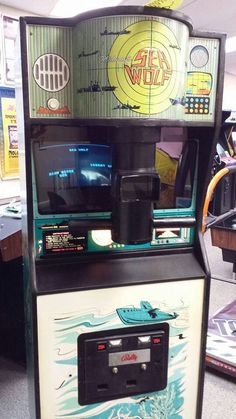 Sea Wolf - I used to play this game at mall arcades. I loved the depth charge noises.