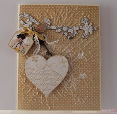 graphic 45 sweet sentiments valentine card - Google Search