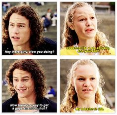 Ten Things I Hate About You: Kat is me, and I am Kat (gif)