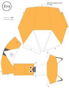 Paper Fox Pattern screenshot