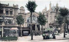 Pays Basque 1900: Les tramways de la Côte Basque Tramway, Biarritz, Basque Country, Beach, Amanda, Travelling, Antique Pictures, Painters, Train Station