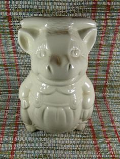 1940s Cookie Jar Friendly Smiling Country Cow or Bull McCoy or ...