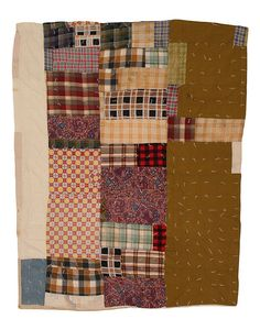 Strip Quilt, 1960-1970. by The Henry Ford, via Flickr Susana Allen Hunter