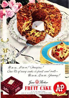 Ann Parker Fruit Cake
