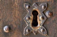 Serrure de porte ancienne