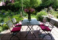 Outdoor Furniture Sets, Outdoor Decor, Home Decor, Plants, Nice Asses, Decoration Home, Room Decor, Home Interior Design, Home Decoration