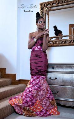 Taye Taylor - London-based Nigerian designer, Taiwo Okunuga.