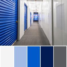 Who knew storage was so pretty? Colour Pallette, Color Palate, Colour Schemes, Color Splash, Color Pop, Church Design, Colour Board, Deco Design, Paint Colors