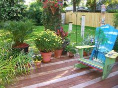 Festive Patio Container Garden